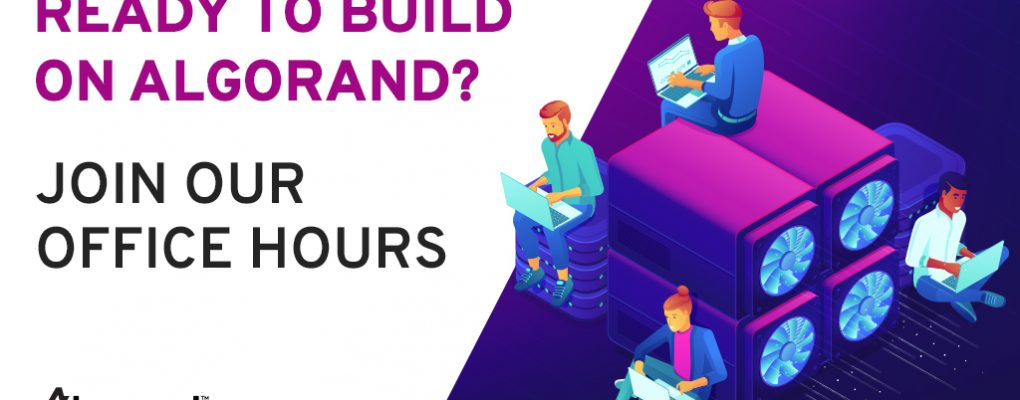 Learn about Algorand Decentralized Exchange 'Algodex' in the next Developer Office Hour Session on the 13th of July, 2021